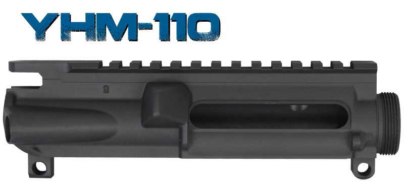 Yankee Hill Stripped Forged A3 Flat Top Upper Receiver AR15