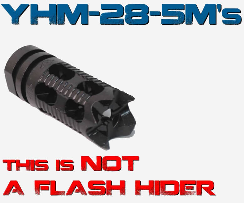YHM Phantom Comp Brake Yankee Hill AR15 Compensator