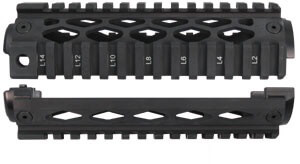 YHM-9660 Two Piece PISTON AR-15 Quad Rail Handguard AR15 Forearm
