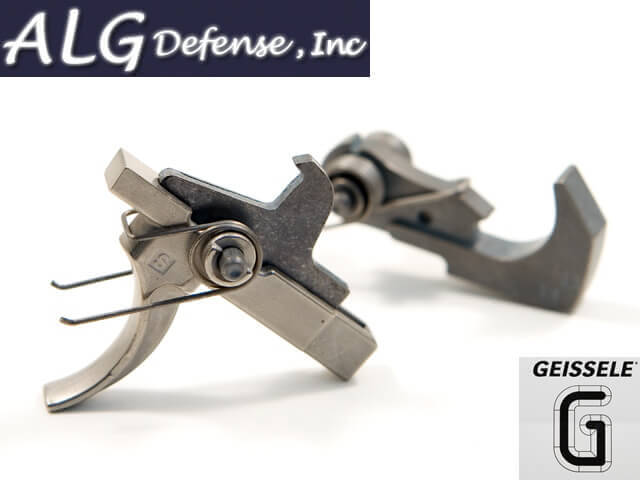 ALG Defense ACT Nickel Boron Combat Trigger tuned by Geissele
