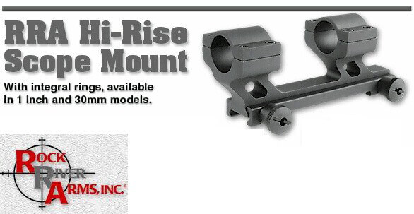 Rock River Arms RRA Hi-Rise Scope Mount 30mm or 1