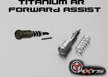 AXTS AR15 AR10 Titanium Forward Assist AR-15 Bead Blast or DLC