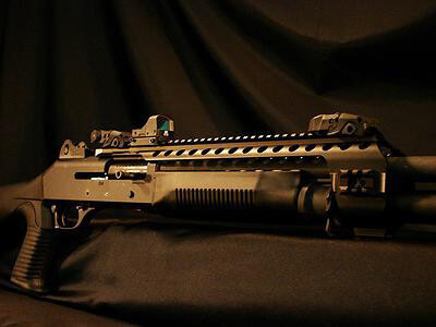 Black Aces Benelli M4 Quad Rail