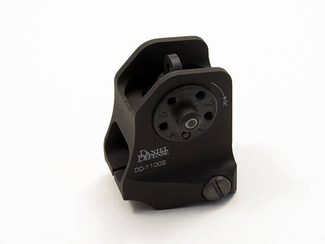 Daniel Defense Fixed Rear Back Up Iron Sight DD-11002