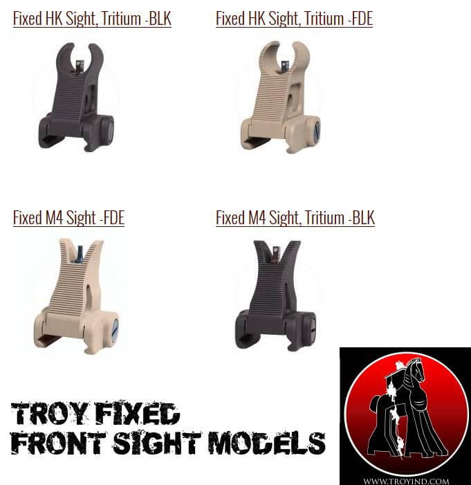Troy Fixed Front Sight