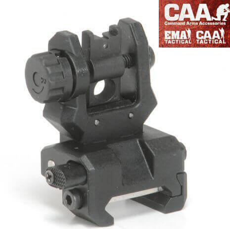 CAA FRS Flip Rear Sight Dual Ap Low Profile Command Arms