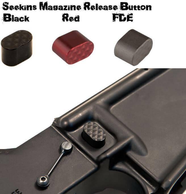 Seekins Precision SP FDE Billet Mag Release AR15 Magazine AR-15 Button