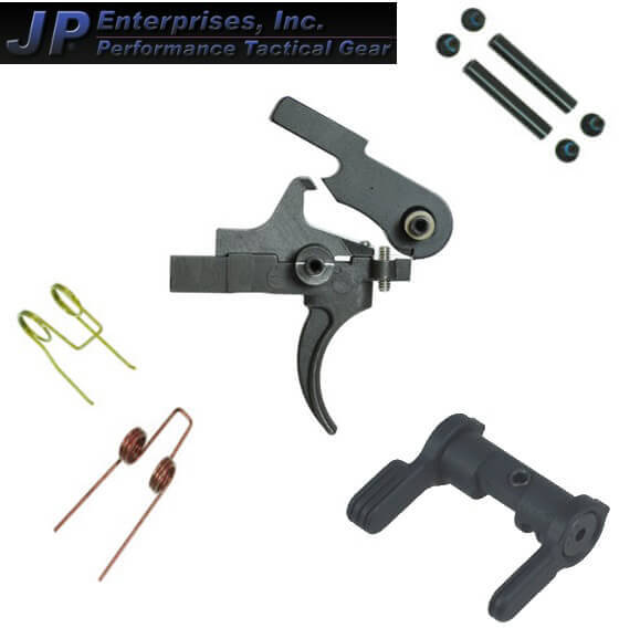 JP Enterprises 3.5lb Single Stage Competition Trigger Ambi Kit