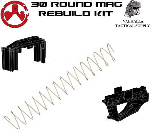 Magpul USGI Mag Rebuild Kit -Follower, Spring and Ranger Plate