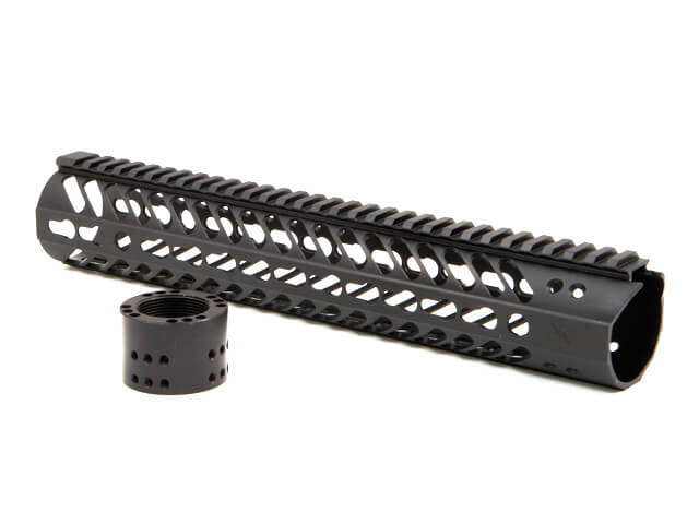 "Seekins Precision SP 15"" KEYMOD MODULAR SUPPRESSOR RAIL MCSR V2"