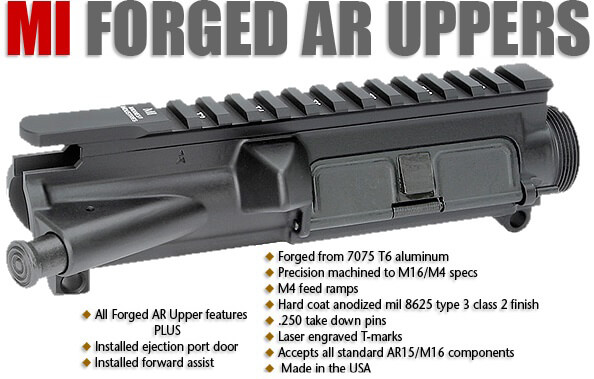 Midwest Forged AR15 Complete AR-15 Upper Receiver