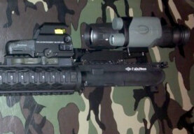 Yukon NVMT 3x42 Night Vision Rifle Scope Laser Sight Kit 26041