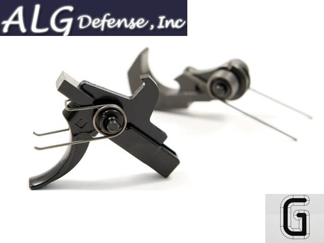 ALG Defense Quality MilSpec QMS Trigger Tuned by Geissele AR15