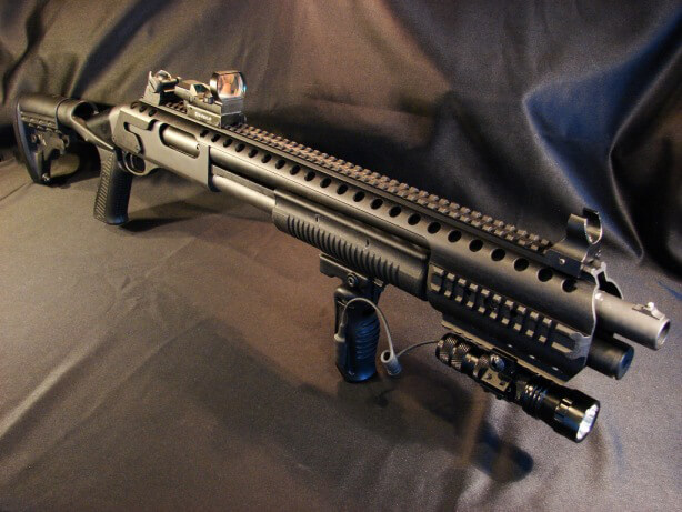 Black Aces Tactical Quad Rail Remington 870 1100