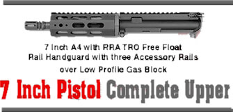 Rock River Arms 9mm Pistol Length A4 Complete Upper AR15 RRA