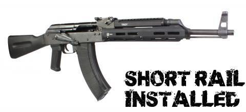 Troy AK47 M-LOK Bottom Rail- Short - Long - Keymod Option- AK-47
