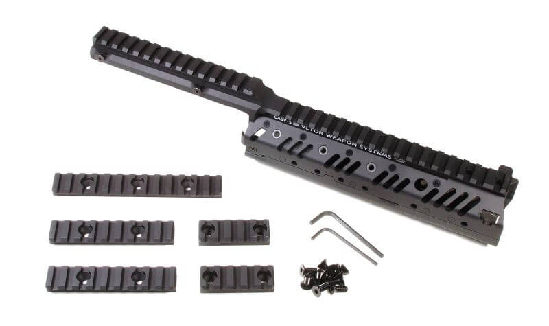 VLTOR AR15 Stepped Mid-length Free Float Modular Rail System