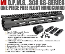 "Midwest SS 12"" Low Profile DPMS .308 Free Float Handguard"