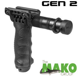 FAB Defense Tactical Foregrip Integrated Bipod & Gen2 Flashlight