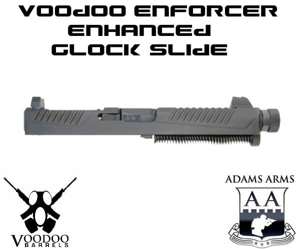 Adams Arms Enforcer Glock 17 Slide VDI RMR VDI Voodoo 9mm