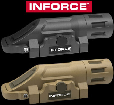 INFORCE WML Picatinny Rail Weapon Mounted Light AR15