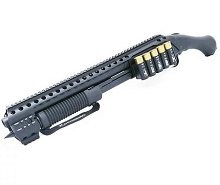 Black Aces Shockwave Quad Rail w/Side Shell Holder