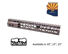 Guntec USA Flat Dark Earth Air Lite Keymod Free Float Handguard