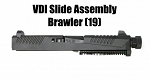 Adams Arms Brawler 19 Glock Slide Assembly VDI VooDoo