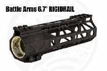 "Battle Arms 6.7"" RIGIDRAIL M-Lok AR15 BAD Development BATTLEARMS RIGID RAIL"