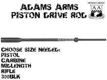 Adams Arms AR15 Piston Drive Rod Assembly with Spring & Bushing