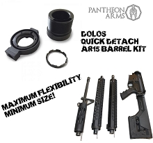 PANTHEON ARMS DOLOS QUICK DETACH BARREL AR15 SYSTEM AR-15 Takedown Kit