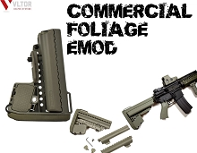 VLTOR EMOD Commercial Foliage Green Enhanced Modstock AR15 AR-15
