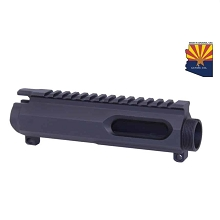 Guntec USA 9mm AR Stripped Slab Side BILLET Upper Receiver AR15 No Forward Assist