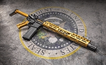 Guntec USA Trump Gen2 M-LOK MAGA AR15 Furniture Set Make America Great AR-15 GEN 2 LIMITED EDITION