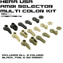 Hera USA MPSS Multi-Purpose Safety Selector AR15 Ambi AR-15