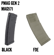 MAGPUL PMAG MOE M2 5.56 NON-Window 30RD 30 Round AR-15 Polymer Magazine AR15