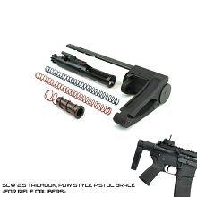 Dead Foot Arms 5.56 SCW 2.5 TAILHOOK PISTOL BRACE AR-15 MCS AR15 Deadfoot