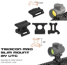 UTG Super Slim MRO Mount Lower 1/3 Co-witness