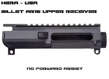 Hera USA HCU Billet No Forward Assist AR15 Stripped Upper Receiver AR-15 Mil-spec