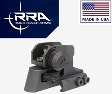 RRA Rock River Arms Tactical Rear A2 Fixed Stand Alone Sight AR15/M16/AR-15
