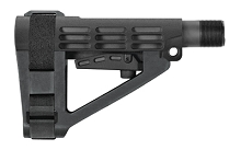 SB Tactical Adjustable AR15 Pistol Brace SBA4 Collapsible AR
