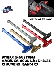 Strike Industries Latchless Ambidextrous AR15 Charging Handle AR-15