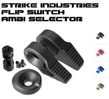 Strike Industries SI Flip Switch AR Ambi Selector Colors Available Ambidextrous