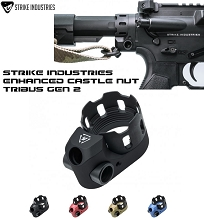Strike Industries TRIBUS Enhanced Castle Nut & Extended End Plate