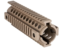 Mission First Tactical FDE MFT TEKKO T-MARC Rail Drop In Quad Rail Handguard SDE Scorched Dark Earth