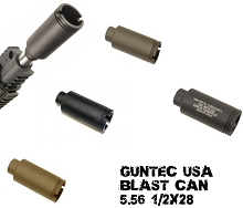 Guntec USA AR-15 Flash Cone Blast Can AR15