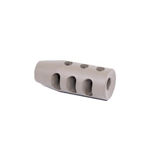Guntec USA AR-15 Multi Port Cerakoted FDE 3 Chamber Compensator AR15 Brake