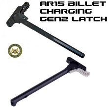 Guntec AR15 BILLET Gen 2 Latch CHARGING HANDLE AR-15