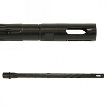 "YHM 14.5"" 1:7 Pinned Fluted Melonite QPQ AR-15 Low Profile Flash Hider Barrel"