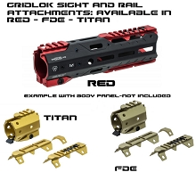 Strike Industries GridLok Sight and Rail Attachments - All Colors AR15 AR-15 Handguard Modular Parts